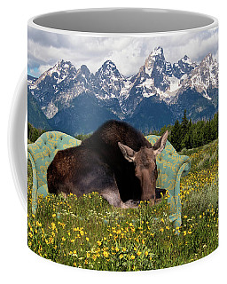 Nap Time In The Tetons Coffee Mug