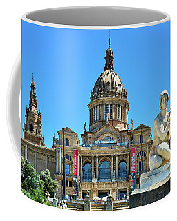 Coffee Mug featuring the photograph National Art Museum In Barcelona by Eduardo Jose Accorinti