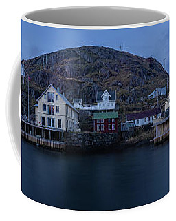 Norwegian Seaside Town Nyksund Coffee Mug