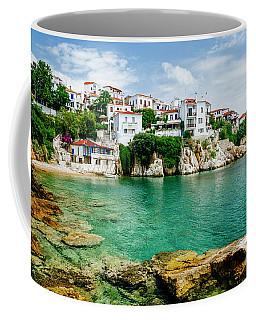 Old Town View Of Skiathos Island, Sporades, Greece.  Coffee Mug