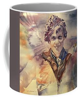 On Eagles Wings Coffee Mug