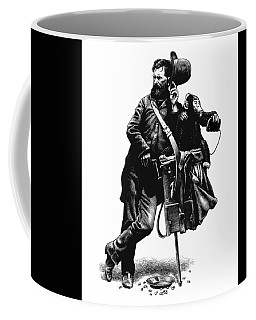 Organ Grinder Coffee Mug