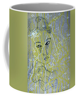 Our Lady Of Asia Mary Mother Of Jesus Christ Divine Shepherdess Coffee Mug