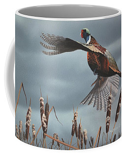 Out Of The Cattails Coffee Mug