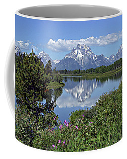 Coffee Mug featuring the photograph Oxbow Bend by Ronnie and Frances Howard