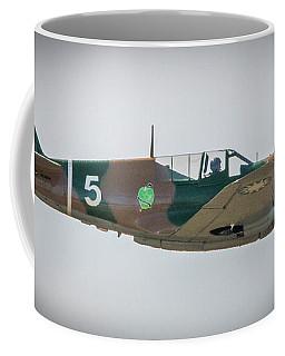 Coffee Mug featuring the photograph P-40 Warhawk by Tom Claud