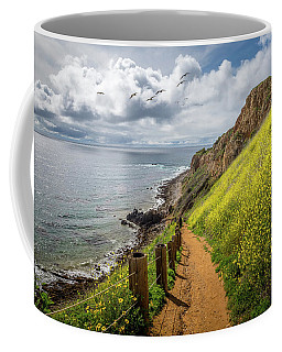 Coffee Mug featuring the photograph Pelican Cove Super Bloom by Andy Konieczny