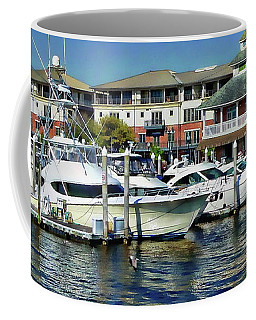 Coffee Mug featuring the photograph Pensacola Pier by Anthony Dezenzio