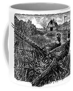 Pheasants Coffee Mug