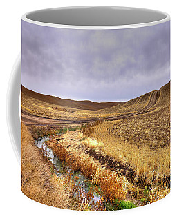 Coffee Mug featuring the photograph Plowed Under by David Patterson