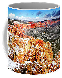 Coffee Mug featuring the photograph Rainbow Point by Scott Kemper