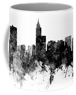 Raleigh North Carolina Skyline Panoramic Coffee Mug