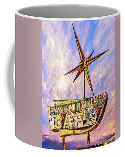 Coffee Mug featuring the photograph Ranch House Cafe by Lou Novick