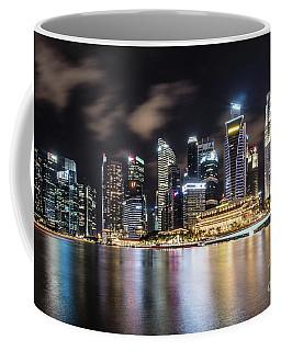 Singapore By Night Coffee Mug
