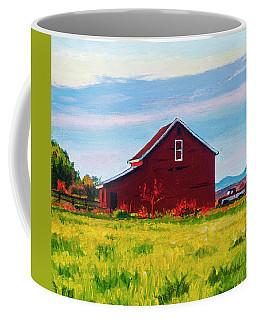 Skagit Valley Barn #4 Coffee Mug