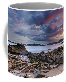 Stormy Sunrise Seascape Coffee Mug