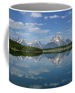 Coffee Mug featuring the photograph Summer Reflections by Ronnie and Frances Howard
