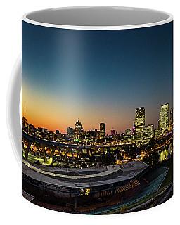 Coffee Mug featuring the photograph Summerfest Sunset by Randy Scherkenbach