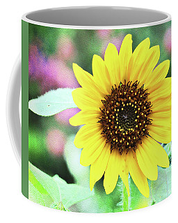 Coffee Mug featuring the photograph Sunflower by Trina Ansel