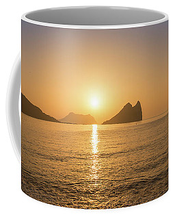 Sunrise On A Beach In Aguilas, Murcia Coffee Mug