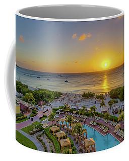 Sunset Over Aruba Coffee Mug