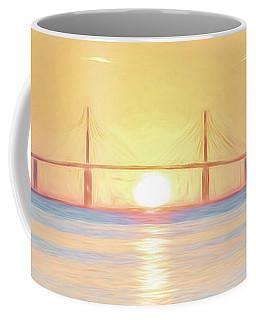 Sunshine Skyway Bridge Sunrise Coffee Mug