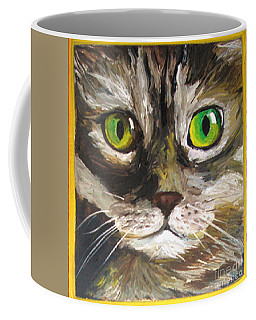 Coffee Mug featuring the painting Susie by Donna Hall