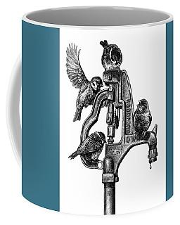 Talk Around The Watercooler Coffee Mug