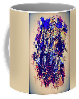 Thanos Watercolor Coffee Mug