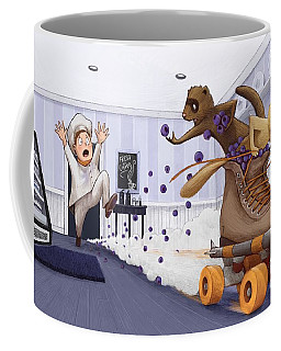The Case Of The Missing Blueberries Coffee Mug