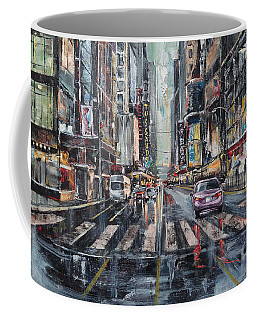The City Rhythm Coffee Mug