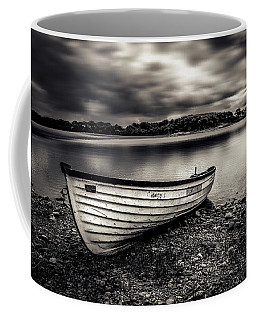 The Lone Boat Coffee Mug