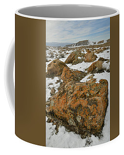 The Many Colors Of The Book Cliffs Coffee Mug