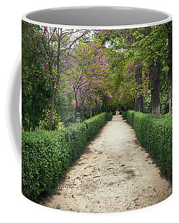 The Paths Of The Retiro Park Coffee Mug