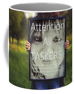 Coffee Mug featuring the digital art Thebroadcastmonkey by Catherine Lott