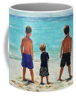 Three Beach Boys Aqua Sea Coffee Mug
