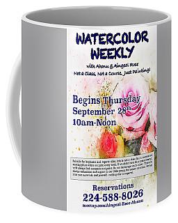 Watercolor Weekly Coffee Mug