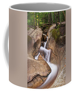 Coffee Mug featuring the photograph Waterfall At The Basin by Sharon Seaward