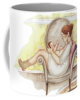 When Eyes Meet Eyes Coffee Mug
