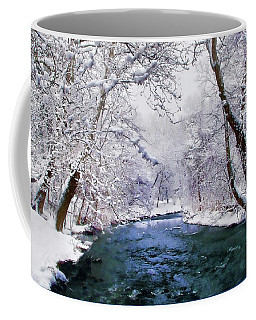 Winter White Coffee Mug