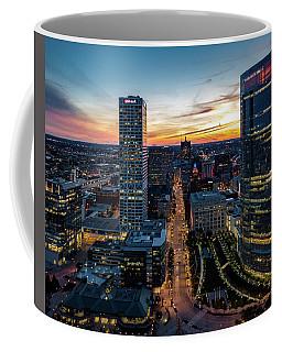 Coffee Mug featuring the photograph Wisconsin Avenue by Randy Scherkenbach
