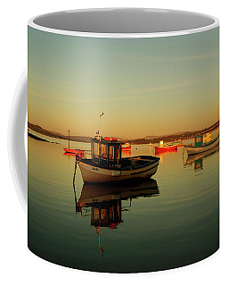 10/11/13 Morecambe. Boats On The Bay. Coffee Mug