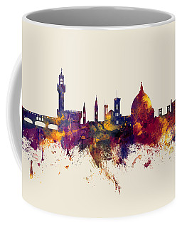 Florence Italy Skyline Coffee Mug