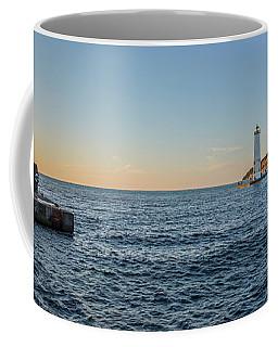 Frankfort North Breakwater Lighthouse Coffee Mug