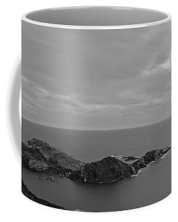 Dawn In Black And White In The Cap De Creus Coffee Mug