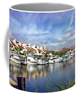 Coffee Mug featuring the photograph Pensacola Bay by Anthony Dezenzio