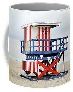13th Street Lifeguard Tower - Miami Beach Coffee Mug
