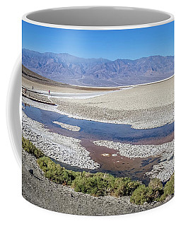 Coffee Mug featuring the photograph Badwater Basin Death Valley National Park California by Alex Grichenko