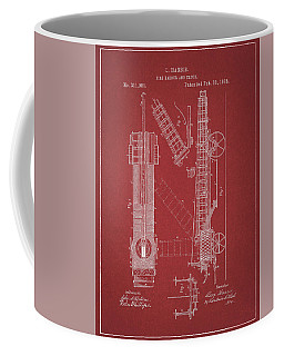 1885 Fire Truck Patent Coffee Mug