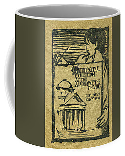 1894-95 Catalogue Of The Architectural Exhibition At The Pennsylvania Academy Of The Fine Arts Coffee Mug